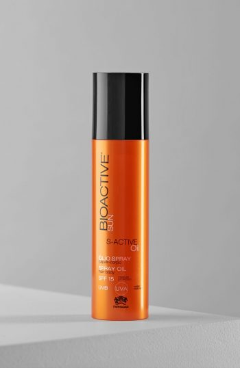 Bioactive Sun & Fitness S-active Oil Spray Oil Spf 15 200 Ml