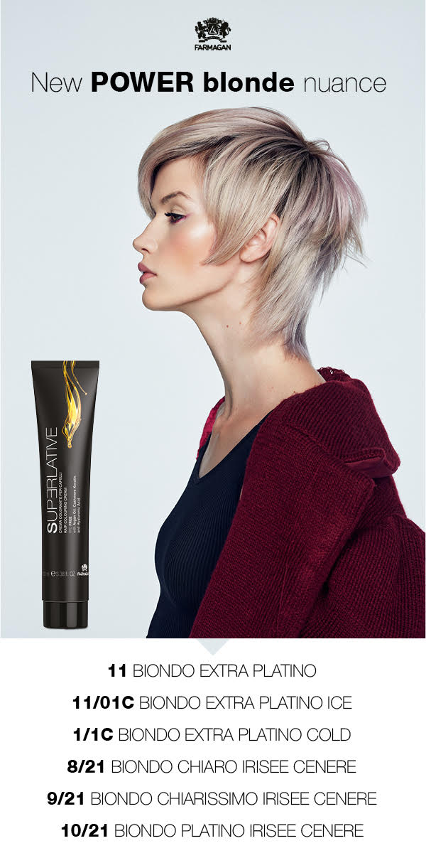 New Power blonde nuance